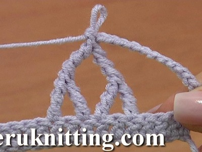 Crochet Two Upside Down Y Stitches Together Tutorial 25 Complex Crochet Stitch
