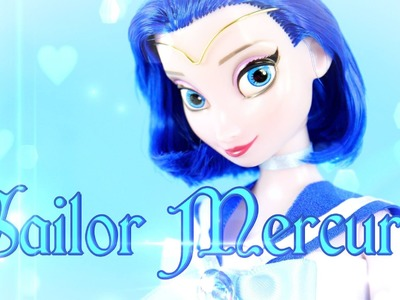 Custom Doll: Sailor Mercury - Doll Crafts