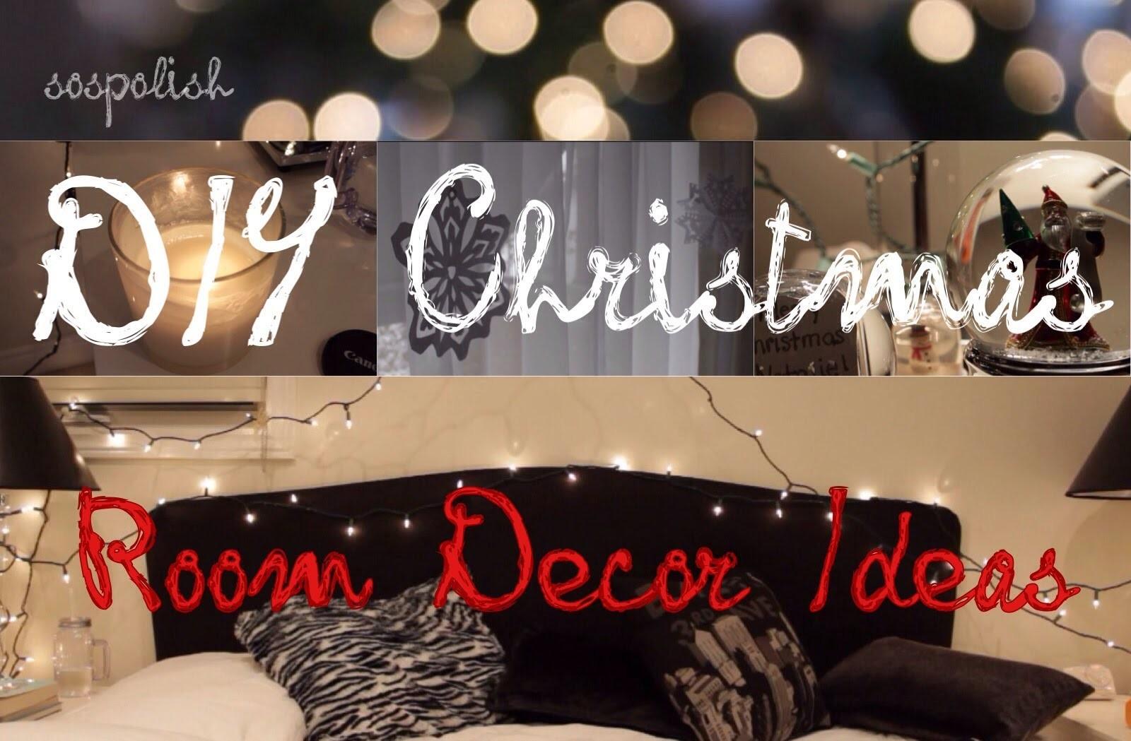 DIY: Christmas Bedroom Decor Ideas