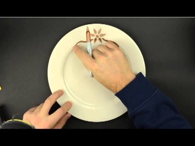 DIY Craft Project - Making a Monogrammed Plate - How To Make A Decorative Plate
