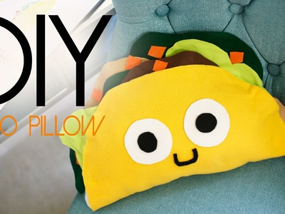 DIY Cute Taco Pillow Plushie (Father's Day gift Ideas) | ANNEORSHINE