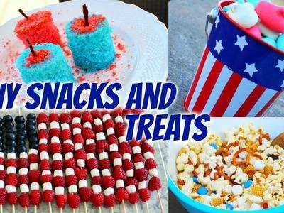 DIY Fourth of July Snacks & Treats!
