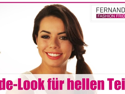 DIY: Make-up-Tutorial: Nude-Look für hellen Teint!