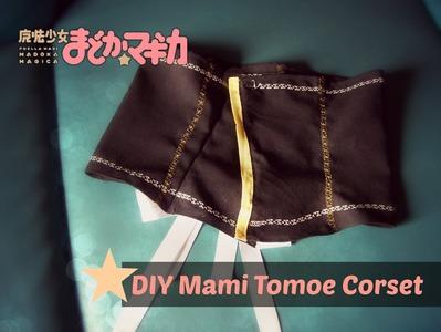DIY Mami Tomoe Cosplay: Corset Tutorial