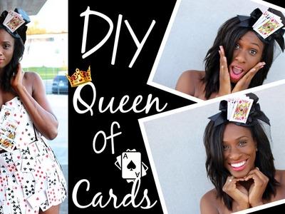 DIY Queen of Cards Halloween Costume