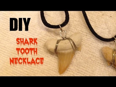 DIY: Shark Tooth Necklace