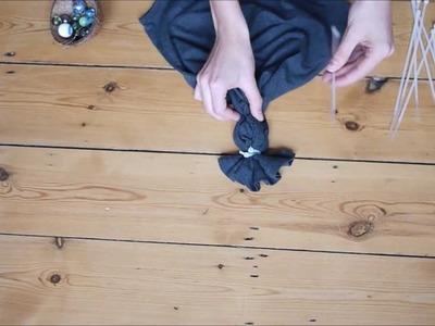 DIY  Tie-dye ombre bleached top