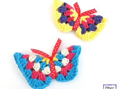 Episode 197: How to Make a Granny Hexagon Butterfly