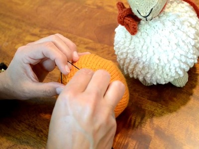 Face Embroidery on Knitted Toys