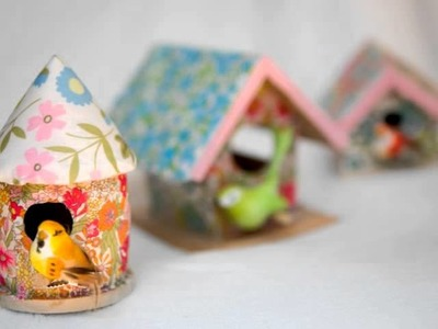 Handmade Bird Crafts by Flying Little Birds