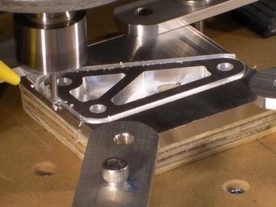 Homemade DIY CNC Series - 1.4 Thick Aluminum Test Bracket - Neo7CNC.com