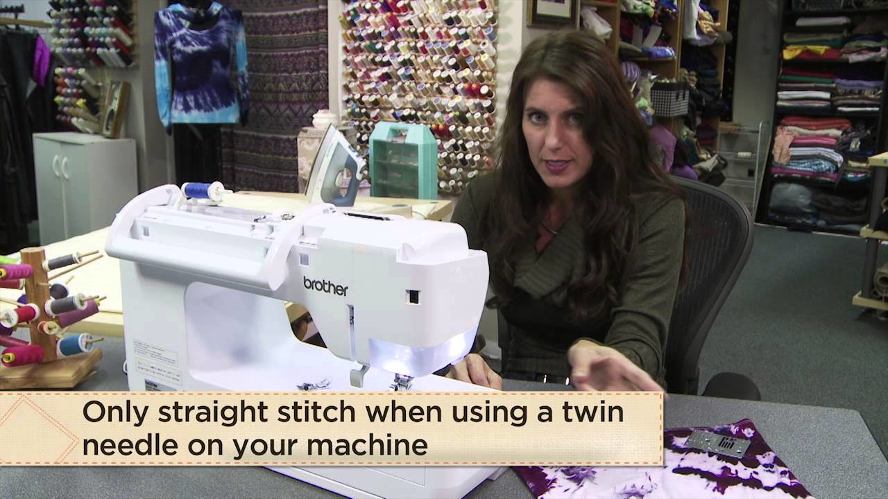 How To Create a Hem For T-Shirts and Knits with Angela Wolf from Tailoring Ready-to-Wear