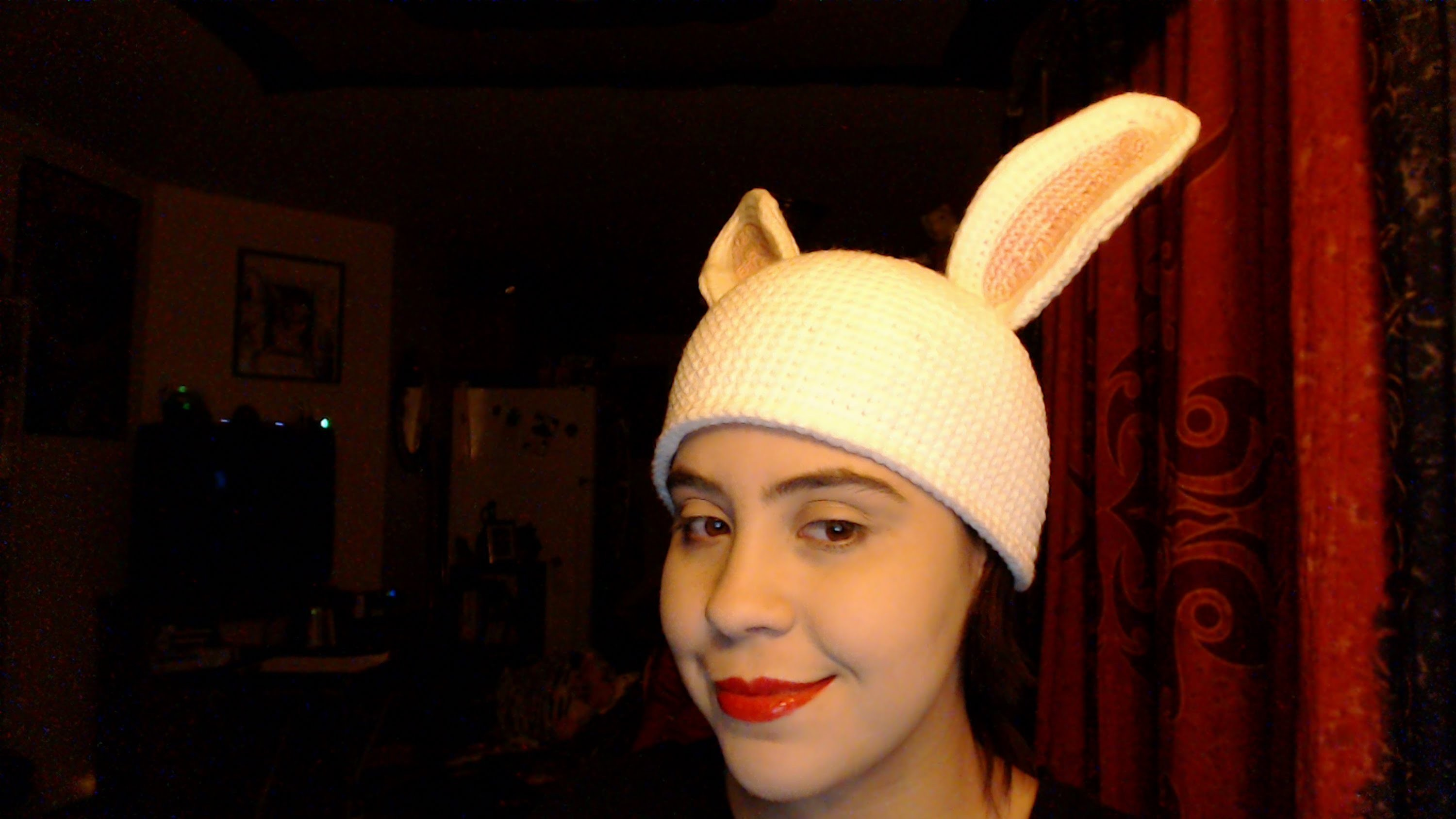 How to Crochet Bunny Ears Part 1
