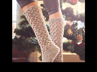 How to crochet socks for beginners step by step