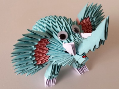 how to sell crafts 3d origami tiger 4723