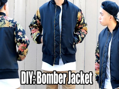How to Make a Bomber Jacket from Scratch