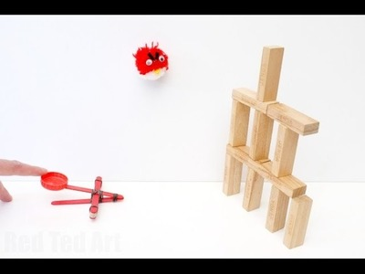 How to Make a Craft Stick Catapult DIY