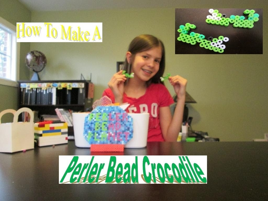 How To Make A Perler Bead Crocodile