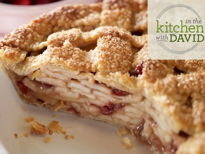 How to Make Apple-Cranberry Pie
