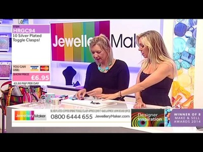 How to make Beaded Jewellery - JewelleryMaker DI LIVE - 14.05.15
