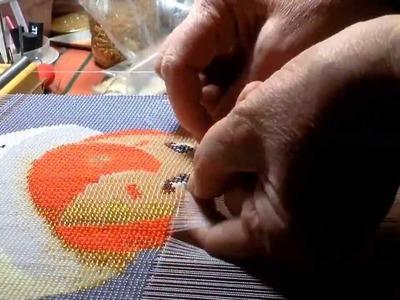 "Instructional video- Beadweaving of ""Speedy Alka-Seltzer"" Tutorial"