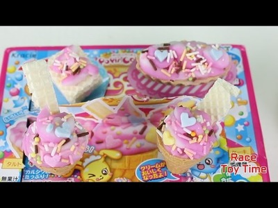 Kracie Popin' Cookin' Soft Ice Cream Candy Making Kit Tutorial DIY