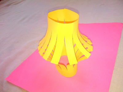 Lamp Shade - Origami Paper Crafts for Kids