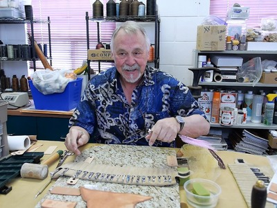Leathercraft Canada - introduction to leather craft - part 2