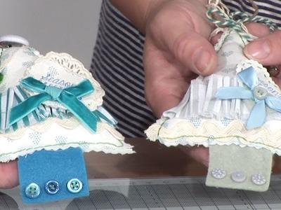 Making a Fabric Christmas Tree Decoration | docrafts Creativity TV