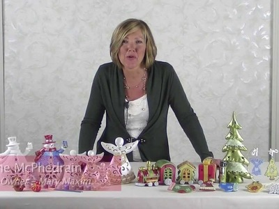 Mary Maxim Holiday Bisque Kits
