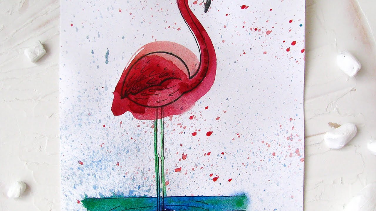 Paint a Magnificent Flamingo - DIY Crafts - Guidecentral