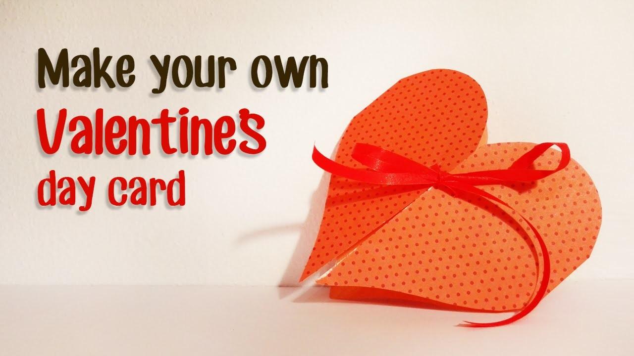 Paper Magic DIY: Valentine's day paper card tutorial