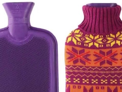 Premium Classic Rubber Hot Water Bottle with Cute Knit Cover Review