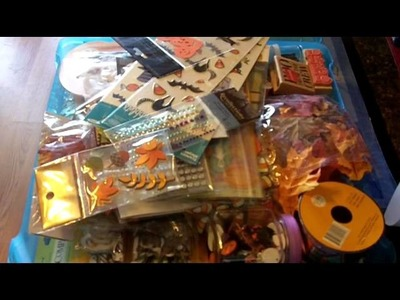 Quick Tip on how I organize my Scrapbooking and Card Making Supplies