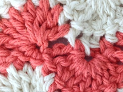 Stitch Repeat Polka Dot Free Crochet Pattern - Right Handed