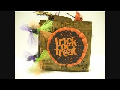 Vintage Halloween Chunky Mini Album Craft Share