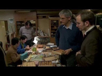 Visiting a master of the craft of manufacturing shogi pieces