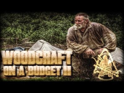Wood Craft on a Budget Part 12 Condor Kephart Feather Sticks