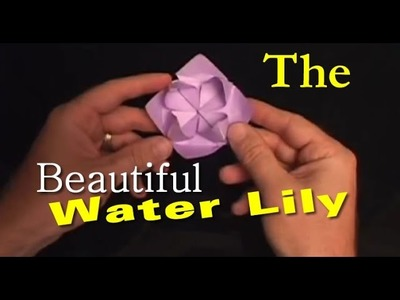 #17: How to Make an Origami Water Lily Flower