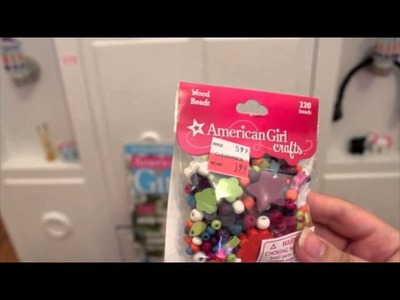 American Girl Crafts and Doll-Sized Makeup Haul