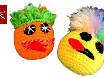 Amigurumi Crochet Geek Video Emoji Challenge