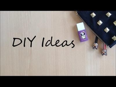 Back To School DIY Ideas