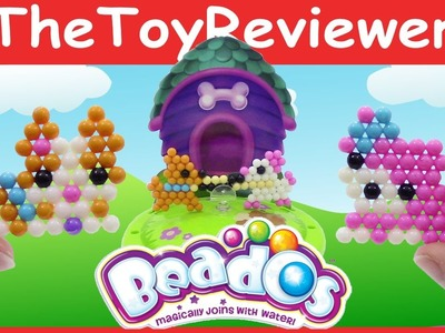 Beados Theme Pack - Puppies At Play Refill Aqua Beads Toy Unboxing Review by TheToyReviewer