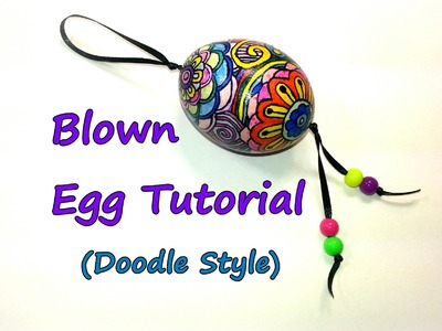 Blown Egg Tutorial (Doodle Style) by feelinspiffy