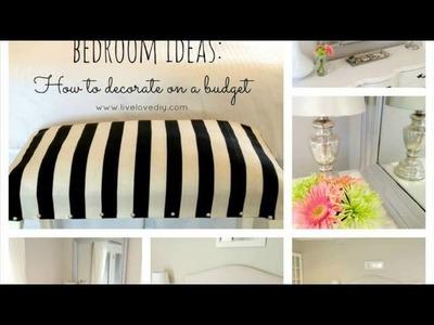 Decorating bedroom ideas diy