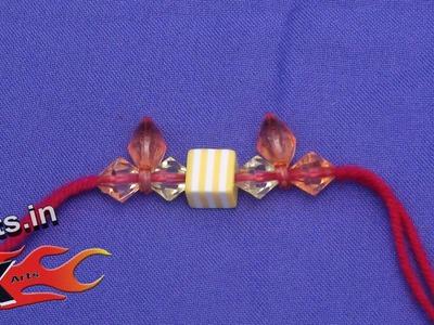 DIY Beads Rakhi  for Raksha Bandhan (Wrist Belt) - JK Arts 048