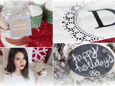 DIY Christmas Gifts! Easy Presents Your Friends + Family Will Love! ❄
