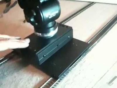 DIY dslr camera track slider dolly