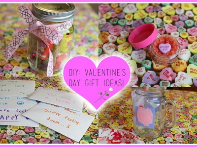 DIY: Easy & Inexpensive Valentine's Day Gifts! ♡