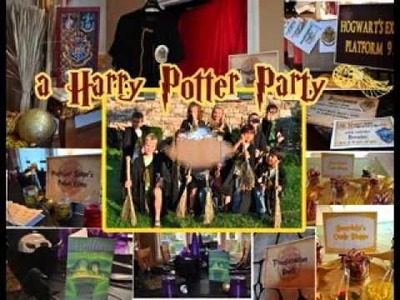 DIY Harry potter craft ideas